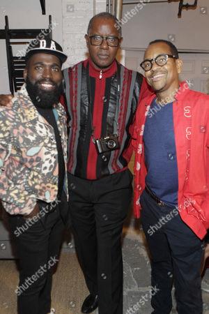 Visual Artist Derrick Adams, Photographer Jamel Shabazz and Photographer Lyle Ashton Harris