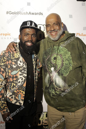 Derrick Adams and Visual Artist/Author Danny Simmons