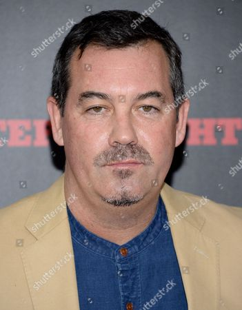 """Tony Award-winning composer Duncan Sheik attends the premiere of """"The Hateful Eight"""" in New York. Sheik is ready to let Broadway audiences hear how he turned the provocative, 1991 novel """"American Psycho"""" into one of the season's bravest pieces of musical theater. It opens April 21, 2016"""