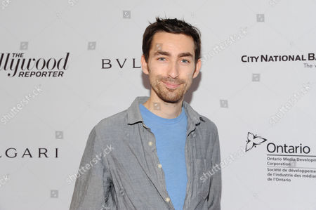 Zach Lipovsky arrives at The Hollywood Reporter's Inaugural Breakthrough in Film Awards presented by Bulgari, on in Toronto