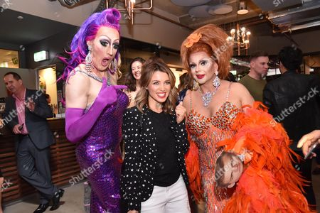 Dannii Minogue and the 'Gals'