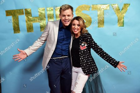 Joel Creasey and Dannii Minogue