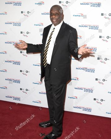 Jimmie Walker arrives at the Kennedy Center for the Performing Arts for the 20th Annual Mark Twain Prize for American Humor presented to David Letterman, in Washington, D.C