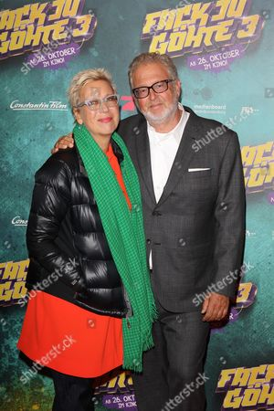 Doris Doerrie and Martin Moszkowicz (Constantin Film AG),....