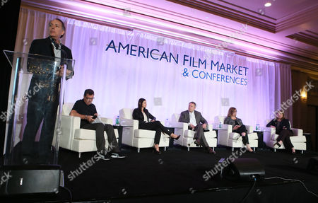 Editorial picture of AFM 2014 - Day 6, Santa Monica, USA
