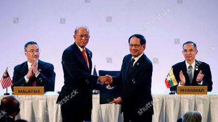 Editorial photo of ASEAN, Clark, Philippines - 23 Oct 2017
