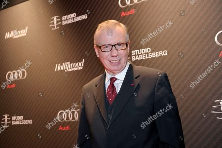 Stock Picture of Ludger Pistor attends The Hollywood Reporter Party held at the Borchardt's Restaurant during the 64th Berlinale International Film Festival,, in Berlin