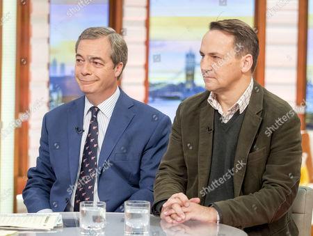 Nigel Farage and Radoslaw Sikorski