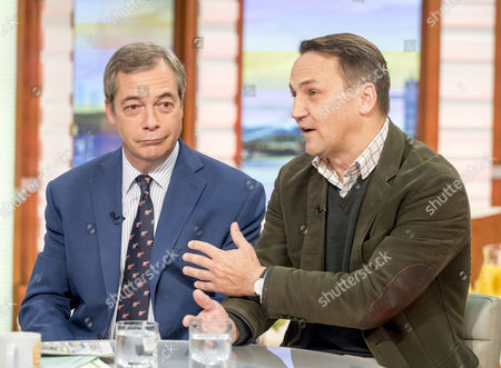 Editorial image of 'Good Morning Britain' TV show, London, UK - 23 Oct 2017