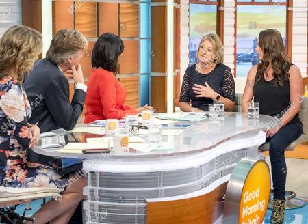 Editorial photo of 'Good Morning Britain' TV show, London, UK - 23 Oct 2017