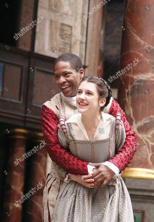 'Romeo and Juliet' -  Adetomiwa Edun (Romeo), Ellie Kendrick (Juliet)