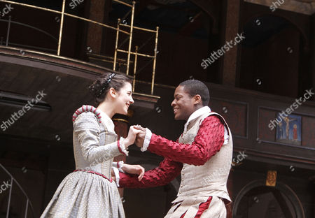 'Romeo and Juliet' -  Ellie Kendrick (Juliet), Adetomiwa Edun (Romeo)