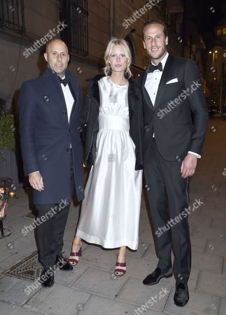 Editorial picture of Project Playground charity dinner, Stockholm, Sweden - 20 Oct 2017