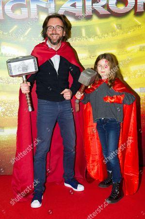 Editorial image of 'Thor: Ragnarok' film premiere, Paris, France - 22 Oct 2017