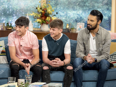 Sean and Conor Price with Rylan Clark