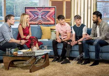 Editorial image of 'This Morning' TV show, London, UK - 23 Oct 2017