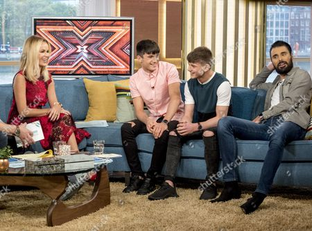 Editorial picture of 'This Morning' TV show, London, UK - 23 Oct 2017