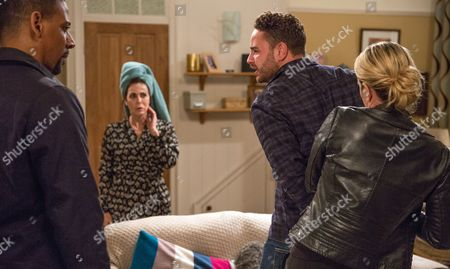 Ep 7981 Monday 6th November 2017 Gerry, as played by Shaun Thomas, has overstayed his welcome with Doug and Diane and is soon trying to wheedle his way onto Aaron Dingle, as played by Danny Miller, and Liv's, as played by Isobel Steele, sofa. But will he be successful?