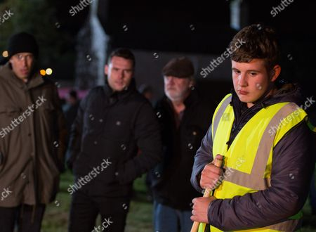 Ep 7980 Friday 3th November 2017  As people gather for the display, Aaron Dingle, as played by Danny Miller, is unhappy to learn something happened between Gerry, as played by Shaun Thomas, and Liv, as played by Isobel Steele, whilst he was away. Doug Potts, as played by Duncan Preston, lights a huge firework and ends up burning his hands on the dangerous fireworks