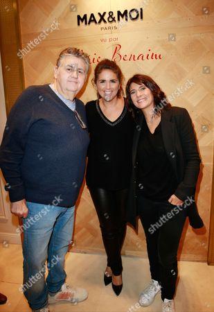 Pierre Menes and Valerie Benaim and Estelle Denis