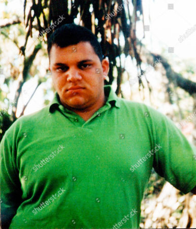 Britains Got Talent contestant Anthony Ghosh who won over judges last Saturdays show went through a transformation to create his current image. Ghosh lost over 7 stone when he was younger. Pictured here on holiday in the Dominican Republic in 2002.