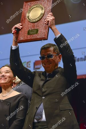 Kar Wai Wong receives the lumiere Award