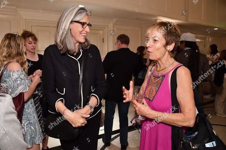 Stock Image of Deborah Nadoolman Landis and guest