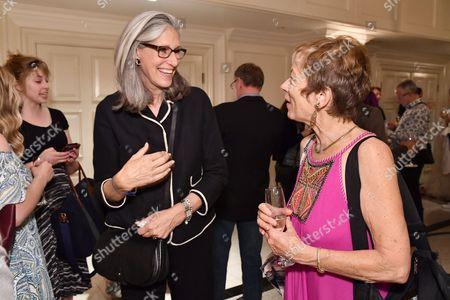 Deborah Nadoolman Landis and guest