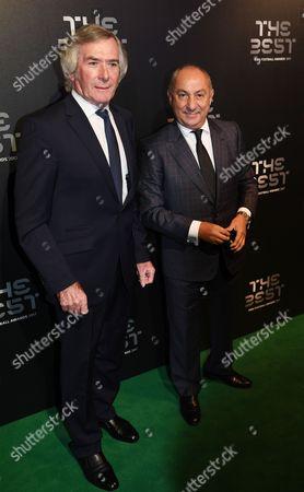 Pat Jennings and Osvaldo Ardiles