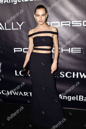 Editorial picture of Gabrielle's Angel Foundation for Cancer Research Angel Ball, Arrivals, New York, USA - 23 Oct 2017