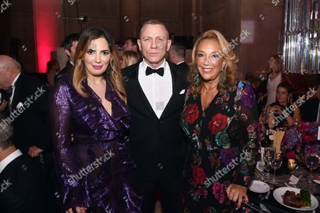 Daniel Craig, Denise Rich, Daniella Rich Kilstock