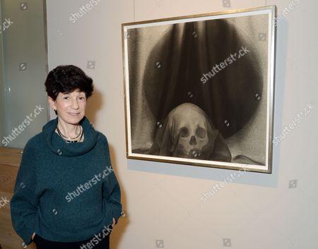 Editorial image of Lynn Stern 'Skull' exhibition, London, UK - 23 Oct 2017
