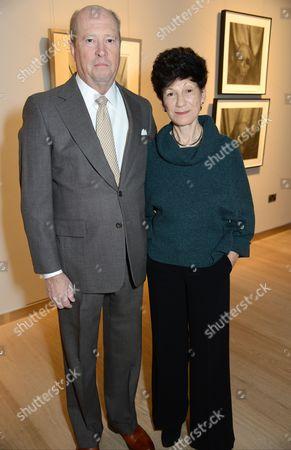Lynn Stern (R) with guest
