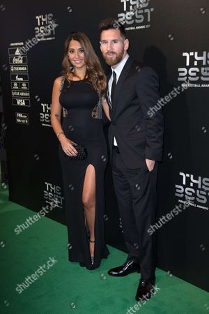 Lionel Messi and wife Antonella Roccuzzo