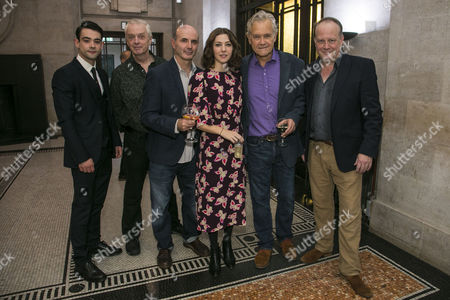 Jack McMullen (Leonard Vole), Philip Franks (Mr Myers), Richard Attlee (Carter/Dr Wyatt), Catherine Steadman (Romaine), David Yelland (Sir Wilfrid Robarts) and Roger Ringrose (Mr Mayhew)