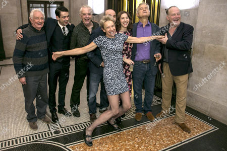 Patrick Godfrey (Sir Justice Wainwright), Jack McMullen (Leonard Vole), Philip Franks (Mr Myers), Richard Attlee (Carter/Dr Wyatt), Lucy Bailey (Director), Catherine Steadman (Romaine), David Yelland (Sir Wilfrid Robarts) and Roger Ringrose (Mr Mayhew)