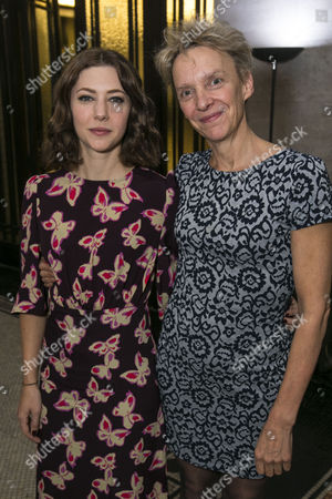 Catherine Steadman (Romaine) and Lucy Bailey (Director)