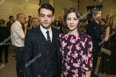 Jack McMullen (Leonard Vole) and Catherine Steadman (Romaine)