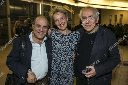 David Suchet, Lucy Bailey (Director) and William Dudley (Designer)