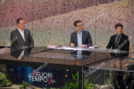 Fabio Fazio, Jan Reno, Fabio De Luigi