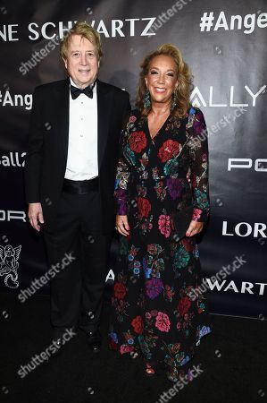 Denise Rich, Peter Cervinka. Gabrielle's Angel Foundation founder Denise Rich and husband Peter Cervinka attend the Angel Ball, hosted by Gabrielle's Angel Foundation for Cancer Research, at Cipriani Wall Street, in New York