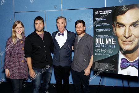Justine Nagan (Exec. Dir., Exec. Producer POV), David Alvarado (Co-Director), Bill Nye, Jason Sussberg (Co-Director)