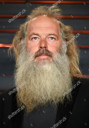 Music producer Rick Rubin attends the Vanity Fair Fair Oscar Party at the Wallis Annenberg Center, in Beverly Hills, Calif