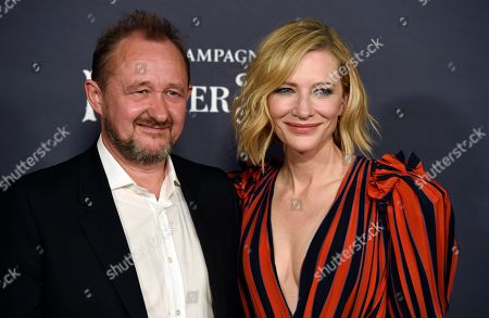 Cate Blanchett, Andrew Upton. Actress Cate Blanchett, right, recipient of the Style Icon award, poses with her husband Andrew Upton at the 3rd annual InStyle Awards at the Getty Center, in Los Angeles