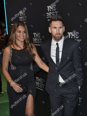 Lionel Messi and his wife Antonella Roccuzzo