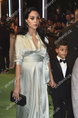 Cristiano Ronaldo Jr and Georgina Rodriguez