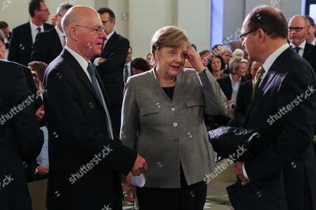 Norbert Lammert and Bundeskanzlerin Angela Merkel