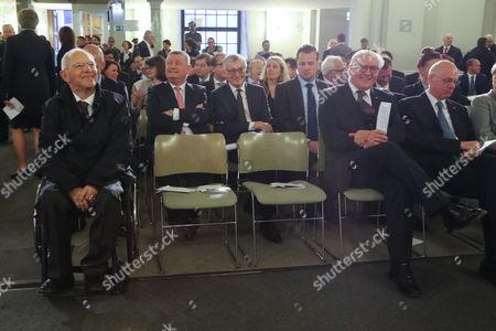 Wolfgang Schäuble, Frank-Walter Steinmeier and Norbert Lammert