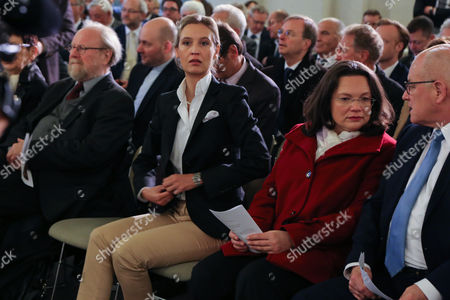 Wolfgang Thierse, Alice Weidel, Andrea Nahles and Norbert Lammert