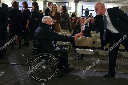 Wolfgang Schäuble and Norbert Lammert